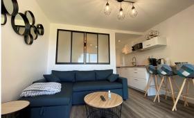 Décoration et aménagement appartement golf du Morbihan La Maison des Travaux Vannes Sarzeau Pénestin